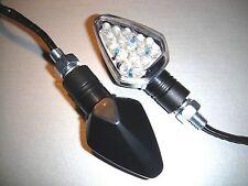 2X LED Hond CBF500,TURBO,CBR600FI,Transalp,S90 Black STAR Bike Turn signal