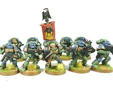 Warhammer 40k Army Space Marine Space Wolves 10 Man Squad Painted