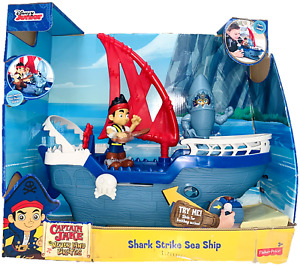 Fisher-Price Disney Junior Jake & the Never Land Pirates Shark Strike Sea Ship