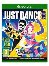 Ubisoft Just Dance 2016 per Xbox One Versione Italiana