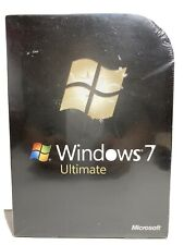 Microsoft Windows 7 Ultimate FULL VERSION GLC-00182 NEW SEALED