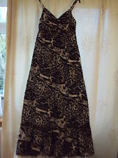 BNWT ladies summer black & white maxi dress. Sz 10. Matalan