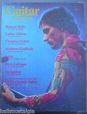 March, 1976 Guitar Player Magazine with Richard (Dickie) Betts on cover