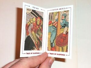 2015 AVENGERS SILVER AGE ARCHIVE CUTS TALES OF SUSPENSE TS82 INSERT CARD 29/65!