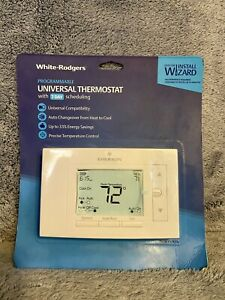 White Rodgers Universal 7-Day Programmable White Digital Thermostat Model#UP310