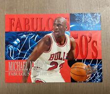 1995-96 Fleer Ultra Fabulous Fifties #5 Michael Jordan Chicago Bulls HOF