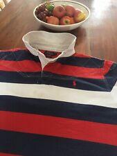 Ralph Lauren Rugby Shirt 2xl Xxl 27.5 Inch Pit To Pit