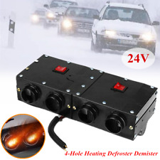 1*Winter Defrosting Demisting Deicing Warm Air Heater For 24V Car SUV RV Heating