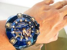 Invicta 27741 Coalition Forces Men's Stainless Steel Quartz Watch - Blue / Gold