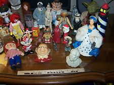 Standing Figure lot w/ Peggy Nisbet Marx Celluloid Nautical Porcelain 28 in all