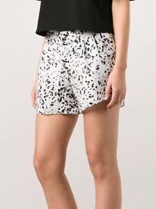 Haute Hippie Swan/Black Animal Print Shorts $245  Size 2  NWT