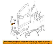 NISSAN OEM Front Door-Check Rod 80430ZC30A