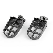 Foot Pegs For Honda CR 125 250 500 Yamaha YZ125 250 WR4 BK