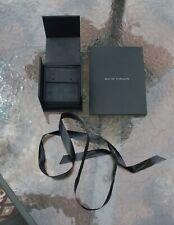 David Yurman Stud Earring Display Box  Ribbon - Pouch - Polishing Cloth - Folder