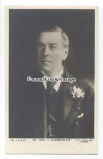 su3139 - Liberal Member of Parliament - Rt Hon Joseph Chamberlain - postcard