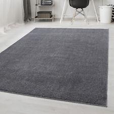 Einfarbig Teppich Kurzflor Modern Einfarbig Wohnzimmer Uni Farbe Oeke-Tex