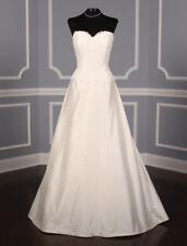 AUTHENTIC! Lea-Ann Belter Katherine Wedding Dress Silk Alencon Lace Size 10