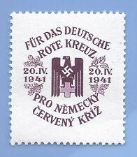Germany Nazi Third Reich Nazi 1941 Swastika Eagle B&M stamp MNH WW2 ERA
