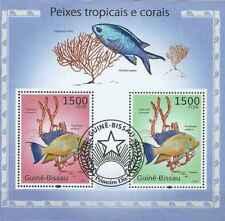 Timbres Poissons Guinée Bissau BF535 o année 2010 lot 23396 - cote : 16 €