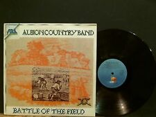 ALBION COUNTRY BAND  Battle Of The Field   LP    Italian pressing   RARE !!