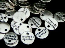 "30 Pcs - Tibetan Silver "" Someone Special ""Charms Craft Beading Jewellery  A111"
