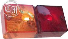 C2390 Rücklichtglas, Blinkerglas R o. L Traktor Ford New Holland 700 Serie