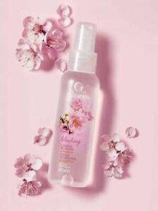 AVON  CHERRY BLOSSOM scented spritz - 3 x 100ml body / Linen room spray