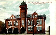 MCKEESPORT PA CENTRAL FIRE AND POLICE STATION USED 1913