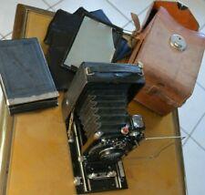 Appareil Photo Contessa Nettel Film Porte assiette Etui pour Collectionneur