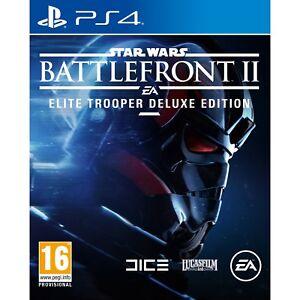 Star Wars: Battlefront II - Elite Trooper Deluxe Edition (PS4) Great Condition