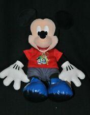 Peluche doudou Mickey DISNEYLAND Resort Paris 15 ans 42 cm BE