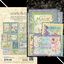 NEW  Graphic 45 Journalling and Ephemera Cards Fairie Wings