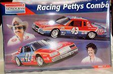 VINTAGE 1995 RACING PETTY COMBO MONOGRAM NASCAR MODEL KIT 6389 RICHARD KYLE 2 43