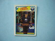 1988/89 O-PEE-CHEE NHL HOCKEY CARD #194 PIERRE TURGEON ROOKIE NM SHARP!! OPC