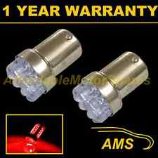 2X 207 1156 BA15s 382 P21W XENON RED 8 DOME LED TAIL REAR LIGHT BULBS TL200701