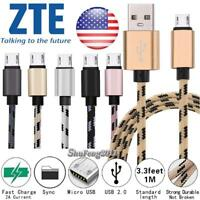 Micro USB Charging Phone Data Sync Charger Cable For ZTE Majesty Pro