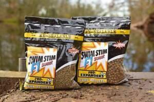 Dynamite Swim Stim F1 Pellets Pro Expander 4/6mm  *CARP FISHING*