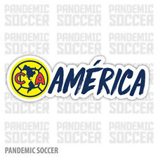 Club America Mexico Vinyl Sticker Decal Calcomania Color Aguilas Americanista