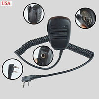 Speaker Microphone mic For Kenwood TK2160 TK3160 TK2170 TK3170 Portable Radio