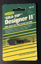 Fletcher Gold Tip Designer Ii Wide Replacement Head #03-713 Stained Glass