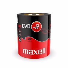 100 Maxell DVD-R RECORDABLE 16x Speed Blank Discs 4.7GB  100 PACK