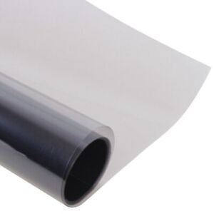 """WINDOW GLASS PROTECTION FILM LAMINATE CLEAR 99% UV REJECTION 20""""X10'"""
