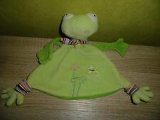 Frosch   MAXIMO    Schmusetuch  Kuscheltuch  ( Neuwertig)