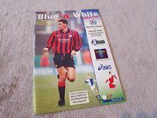 Football Programme - Blackburn Rovers v Swindon Town - Premiership - 1994