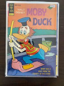Walt Disney Moby Duck 15 Lower Grade Gold Key Comic Book CL76-123