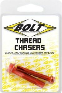 Bolt Thread Chasers Cleaner M6 M8 6mm 8mm KTM CR CRF XR YZ WR KX KLX RM RMZ DRZ