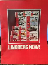 LINDBERG NOW 1991 32 PAGE CATALOG OF PLASTIC MODEL KITS
