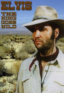 RARE DVD ELVIS PRESLEY - THE KING GOES WILD - 95 MINUTES DE RARETES-DIGIPACK