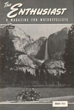 1953 March - The Enthusiast - Vintage Harley-Davidson Motorcycle Magazine