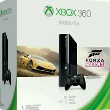 Xbox 360 E 500GB Console + Forza Horizon 2 Pal System Not For Use in USA